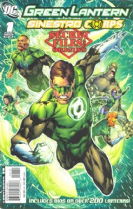 Green Lantern/Sinestro Corps Secret Files and Origins 2008 #1