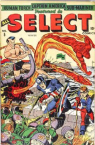 All Select Comics 1943 - 1946 #5