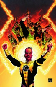 Absolute Green Lantern: the Sinestro Corps War 2012