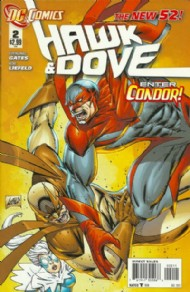 Hawk and Dove (Series 4 - New 52) 2011 - 2012 #2