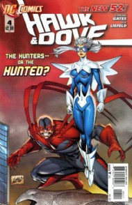 Hawk and Dove (Series 4 - New 52) 2011 - 2012 #4