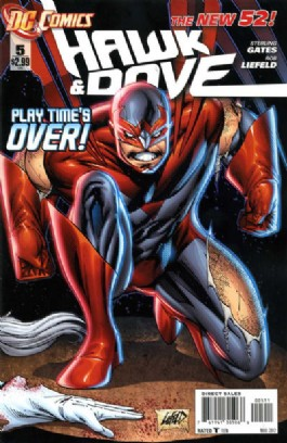 Hawk and Dove (Series 4 - New 52) #5