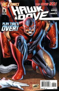 Hawk and Dove (Series 4 - New 52) 2011 - 2012 #5