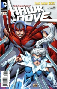 Hawk and Dove (Series 4 - New 52) 2011 - 2012 #8