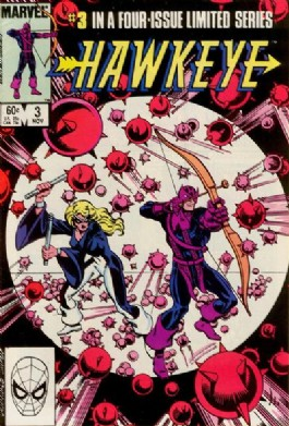 Hawkeye (1st Series) #3