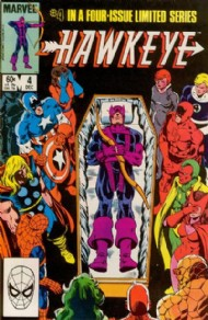 Hawkeye (1st Series) 1983 #4