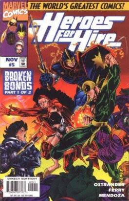 Heroes for Hire (1st Series) #5