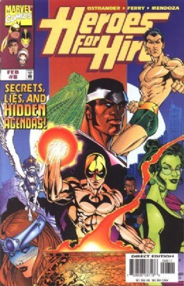 Heroes for Hire (1st Series) #8