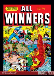 All Winners Comics 1941 - 1946 #7