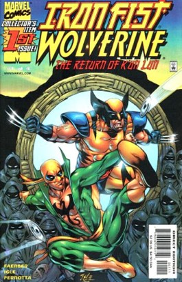 Iron Fist & Wolverine: the Return of K'un Lun #1