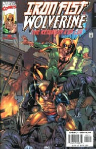 Iron Fist & Wolverine: the Return of K'un Lun 2000 - 2001 #2