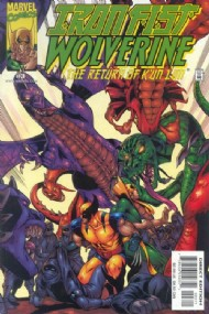 Iron Fist & Wolverine: the Return of K'un Lun 2000 - 2001 #3