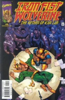 Iron Fist & Wolverine: the Return of K'un Lun #4