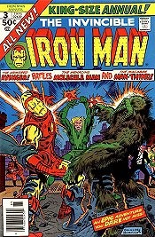 Iron Man (1st Series) Annual 1970 #3