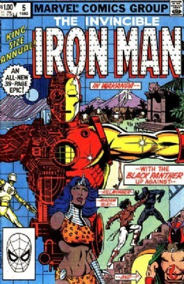 Iron Man (1st Series) Annual #5