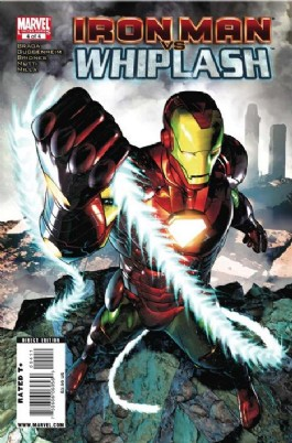Iron Man Vs. Whiplash #4