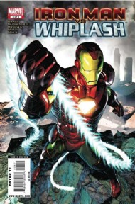 Iron Man Vs. Whiplash 2010 #4