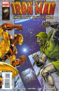 Iron Man: Legacy of Doom 2008 #1
