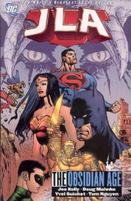 Jla: the Obsidian Age Book One #1