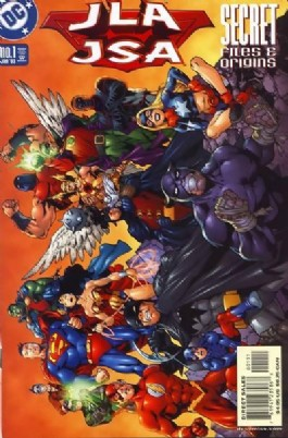Jla/Jsa Secret Files and Origins #1