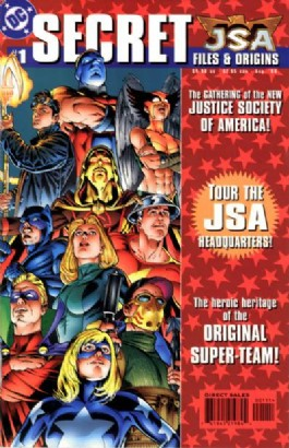 Jsa Secret Files and Origins #1
