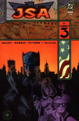 Jsa: the Unholy Three #1