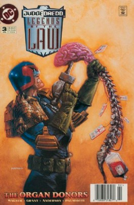 Judge Dredd: Legends of the Law #3