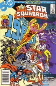 All-Star Squadron 1981 - 1987 #55