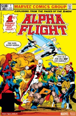 Alpha Flight (1st Series) #1