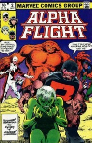 Alpha Flight (1st Series) 1983 - 1994 #2