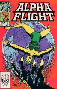Alpha Flight (1st Series) 1983 - 1994 #4