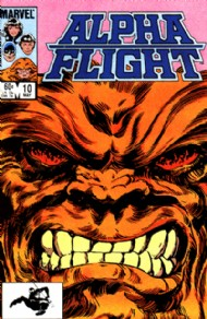 Alpha Flight (1st Series) 1983 - 1994 #10