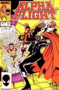 Alpha Flight (1st Series) 1983 - 1994 #16