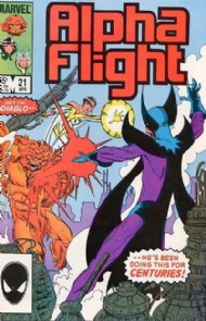 Alpha Flight (1st Series) 1983 - 1994 #21