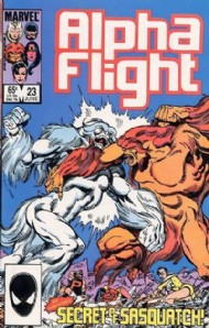 Alpha Flight (1st Series) 1983 - 1994 #23