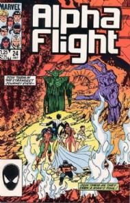 Alpha Flight (1st Series) 1983 - 1994 #24