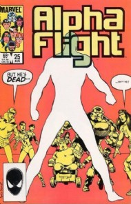 Alpha Flight (1st Series) 1983 - 1994 #25
