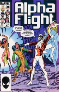 Alpha Flight (1st Series) 1983 - 1994 #27