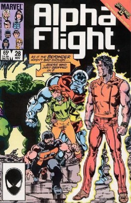Alpha Flight (1st Series) #28