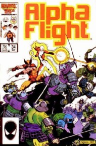 Alpha Flight (1st Series) 1983 - 1994 #34