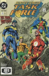 Justice League Task Force 1993 - 1996 #3