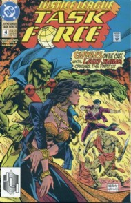 Justice League Task Force 1993 - 1996 #4