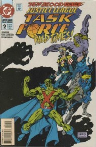 Justice League Task Force 1993 - 1996 #9