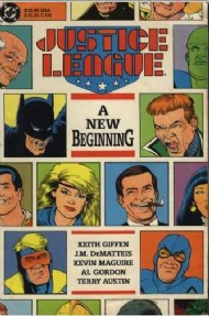 Justice League: a New Beginning 1989