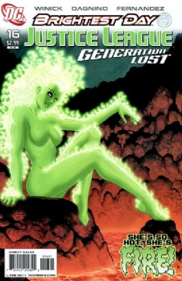 Justice League: Generation Lost #16