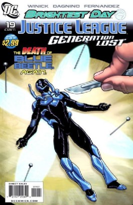 Justice League: Generation Lost #19