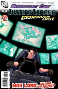 Justice League: Generation Lost 2010 - 2011 #20