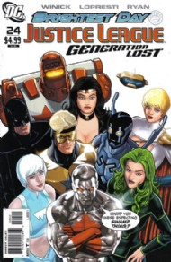 Justice League: Generation Lost 2010 - 2011 #24