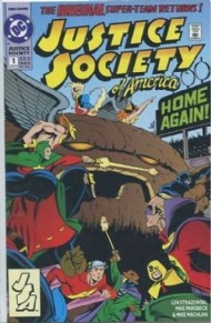 Justice Society of America (1st Series) 1991 #1