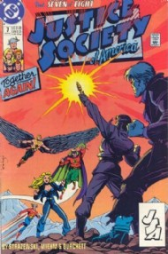Justice Society of America (1st Series) 1991 #7